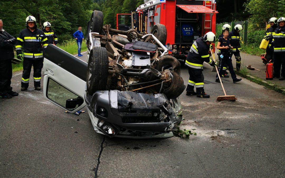 T10 – Verkehrsunfall eingekl. Person B115